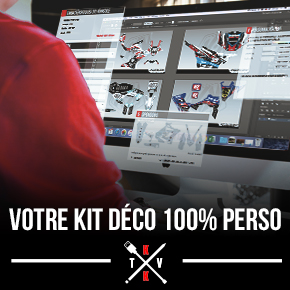 Kit Déco Moto Cross Yamaha PW 50 100% PERSO