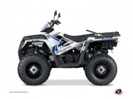 Polaris 450 Sportsman ATV 60th Anniversary Graphic Kit Blue