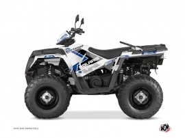 Kit Déco Quad Vintage Polaris 570 Sportsman Forest Bleu 60th Anniversary