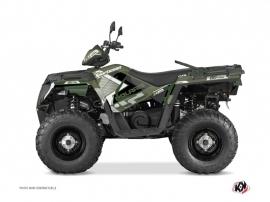 Polaris 570 Sportsman Touring ATV Vintage Graphic Kit Green 60th Anniversary