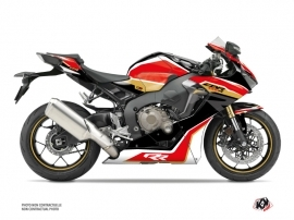 Honda CBR 1000 RR Street Bike Run Graphic Kit Black