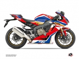 Honda CBR 1000 RR Street Bike Run Graphic Kit Red