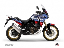 Honda Africa twin Adventure Sport Street Bike Rampage Graphic Kit Black