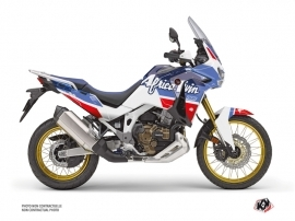 Honda Africa twin Adventure Sport Street Bike Rampage Graphic Kit White