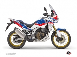 Honda Africa twin Adventure Sport Street Bike Run Graphic Kit White