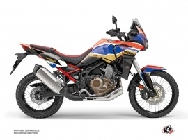 Kit Déco Moto Run Honda Africa twin Rouge