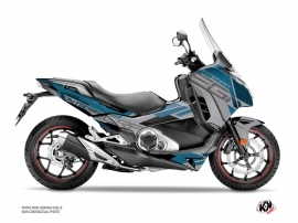 Kit Déco Maxiscooter Challenge Honda Integra 750 Gris