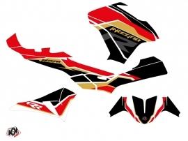 Honda Integra 750 Maxiscooter Run Graphic Kit Black