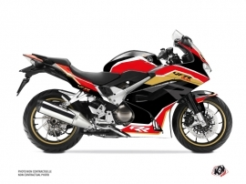 Honda VFR 800 Street Bike Run Graphic Kit Black