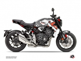 Honda CB 1000 R Street Bike Square Graphic Kit Black