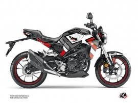 Honda CB 300 R Street Bike Square Graphic Kit Black