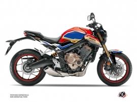 Honda CB 650 R Street Bike Run Graphic Kit Red