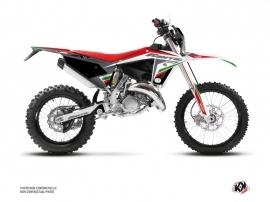 Kit Déco Moto Cross Mantova Fantic 125 XE Vert