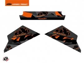 Graphic Kit AXP Skid Plates Moto Delta KTM 790-890 Adventure Black Orange