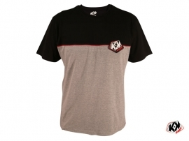 Grey Black KUTVEK CORPORATE T-shirt