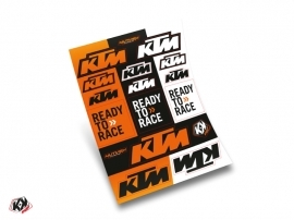 Stickers Board KTM 30x38cm