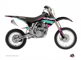 Honda 150 CRF Dirt Bike League Graphic Kit Turquoise