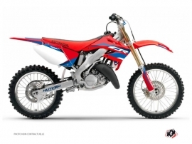 Honda 250 CR Dirt Bike League Graphic Kit Red
