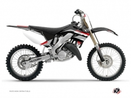 Honda 250 CR Dirt Bike League Graphic Kit Black