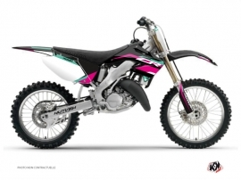 Honda 250 CR Dirt Bike League Graphic Kit Turquoise