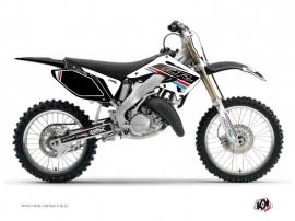 Kit Déco Moto Cross First Honda 125 CR Blanc