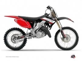 Honda 125 CR Dirt Bike First Graphic Kit Black