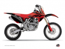 Honda 150 CRF Dirt Bike Nasting Graphic Kit Red Black