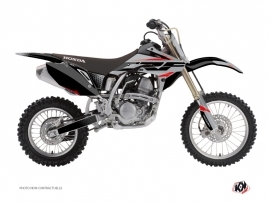 Honda 150 CRF Dirt Bike Nasting Graphic Kit Grey Red