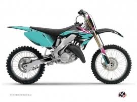 Honda 125 CR Dirt Bike Nasting Graphic Kit Turquoise
