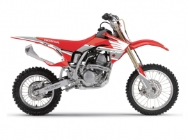Honda 150 CRF Dirt Bike Wing Graphic Kit Grey