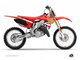 Honda 125 CR Dirt Bike Wing Graphic Kit White