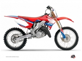 Kit Déco Moto Cross Wing Honda 250 CR Bleu