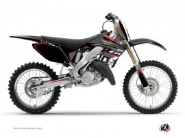 Honda 125 CR Dirt Bike Dyna Graphic Kit Black