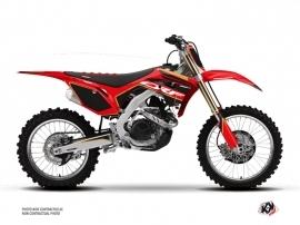 Honda 250 CRF Dirt Bike Dyna Graphic Kit Gold