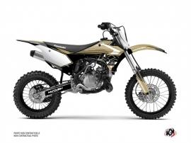 Kawasaki 85 KX Dirt Bike Claw Graphic Kit Sand