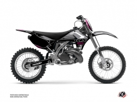 Kawasaki 125 KX Dirt Bike Claw Graphic Kit Grey