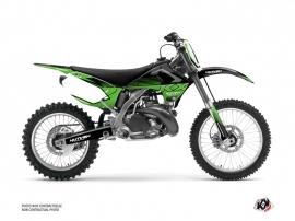 Kawasaki 250 KX Dirt Bike Claw Graphic Kit Black