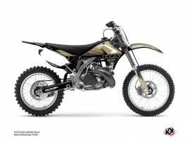 Kawasaki 250 KX Dirt Bike Claw Graphic Kit Sand