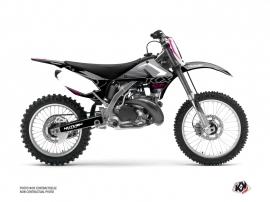 Kawasaki 250 KX Dirt Bike Claw Graphic Kit Grey