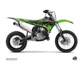 Kit Déco Moto Cross Live Kawasaki 85 KX Vert