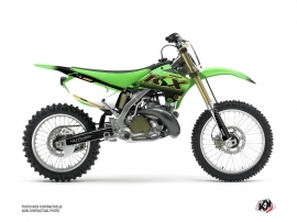Kit Déco Moto Cross Live Kawasaki 250 KX Gold