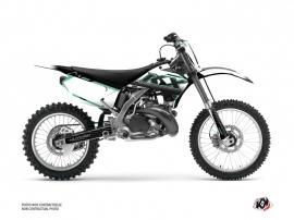 Kawasaki 250 KX Dirt Bike Live Graphic Kit Turquoise