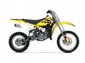 Suzuki 85 RM Dirt Bike Label Graphic Kit Black