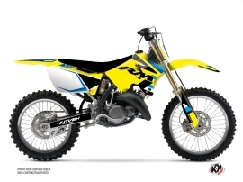 Kit Déco Moto Cross Label Suzuki 250 RM Bleu
