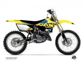 Kit Déco Moto Cross Grade Suzuki 250 RM Bleu