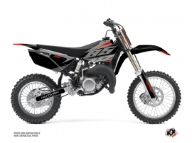 Yamaha 85 YZ Dirt Bike Skew Graphic Kit Red