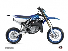 Kit Déco Moto Cross Skew Yamaha 65 YZ Bleu
