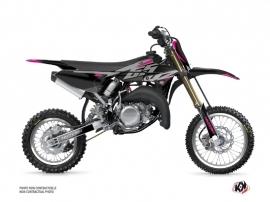 Kit Déco Moto Cross Skew Yamaha 65 YZ Rose