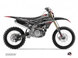 Yamaha 450 WRF Dirt Bike Skew Graphic Kit Red