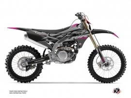 Yamaha 450 WRF Dirt Bike Skew Graphic Kit Pink